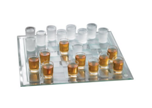 checkers shot board