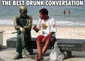 drunk convo